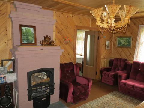 Добротный дом 140 кв.м, баня, красивый участок. Лес.52 км. - Фото 4