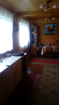 Продается зимняя дача из бревна с баней Верхнее пикалово Чехов - Фото 5