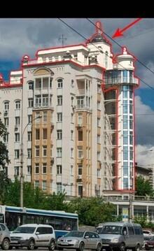 Улица Л.Толстого 2; 5-комнатная квартира стоимостью 16500000р. город . - Фото 3