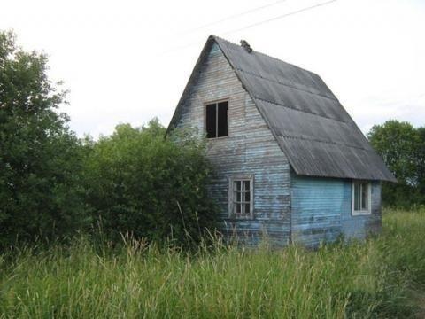 Участок 15 соток с домом в деревне Забелино - Фото 1