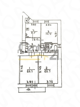 Продажа квартиры, м. Маяковская, 3-я Тверская-Ямская улица - Фото 3
