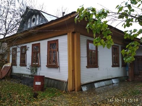 Продам дом из бревна, 15 минут ходьбы до реки Волга. Деревня Башарино - Фото 1