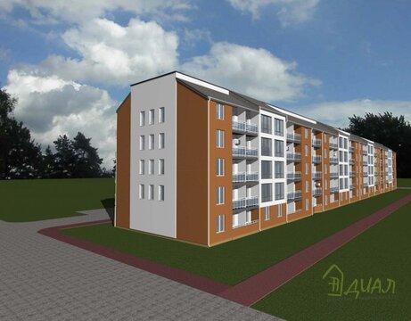 1- к квартира, площадью 46,6 м.кв. г. Яхрома, Бусалова,10 - Фото 2