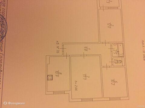 2 050 000 Руб., Квартира 3-комнатная Саратов, 5-й квартал, ул им Блинова Ф.А., Купить квартиру в Саратове по недорогой цене, ID объекта - 319698752 - Фото 1
