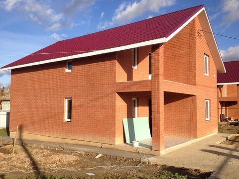 Загородный коттедж 160 кв.м. на участке 10 соток в д. Рахманово - Фото 1