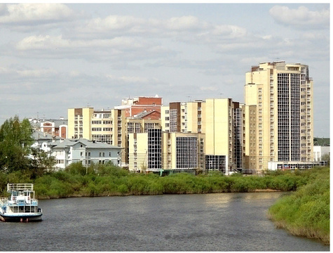 Аренда квартиры, Вологда, Пречистенская набережная - Фото 1
