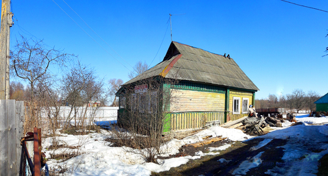 Участок в ветхим домом в деревне Княжево Волоколамского района МО - Фото 3