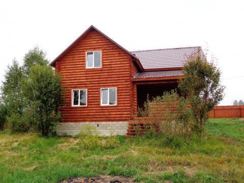 Продается новый дом с коммуникациями и газом в жилой деревне - Фото 5