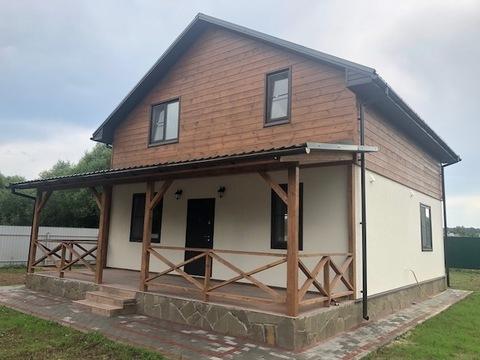 Новый дом под ключ, с. Ивановское, Чеховский район - Фото 2