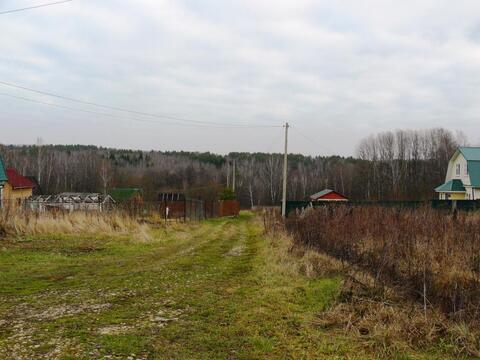 Былина СНТ участок 10 соток Заокский район Тульская область - Фото 4