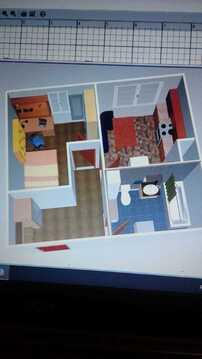 Улица Камова дом 6к1, квартира-студия 29 кв.м. - Фото 4