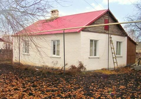 Продаю кирпичный дом в селе Новопетровка Добринского района - Фото 1