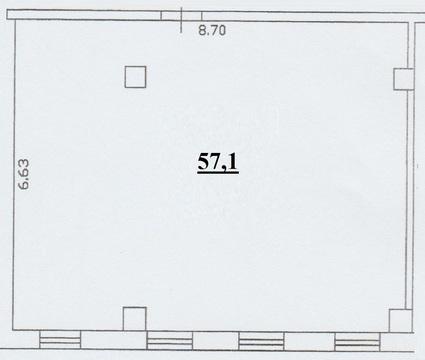 Продажа нежилого помещения 57, 1 кв.м - Фото 4