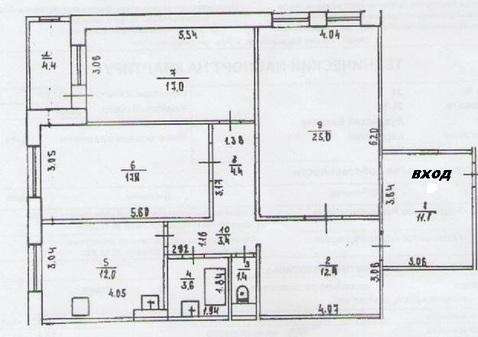 Продается трехкомнатная квартира на Дуванском б-ре - Фото 2