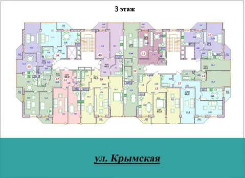1 к.кв. в новом доме на ул.Крымской - Фото 4