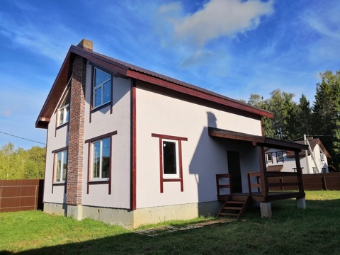 Продаётся новый дом 158 кв.м с уч. 8 сот.-35 км от МКАД - Фото 5