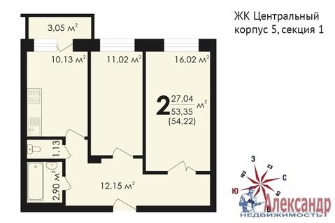 Продам 2к. квартиру. Звенигород г, Почтовая ул, д.36 к.6 - Фото 2