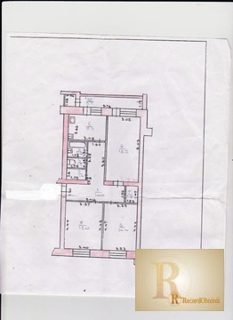 Трехкомнатная квартира 78кв.м. в гор. Жуков - Фото 1