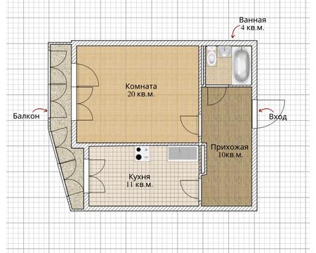 Объявление №60959206: Квартира 1 комн. Томск, ул. Алтайская, 107а,