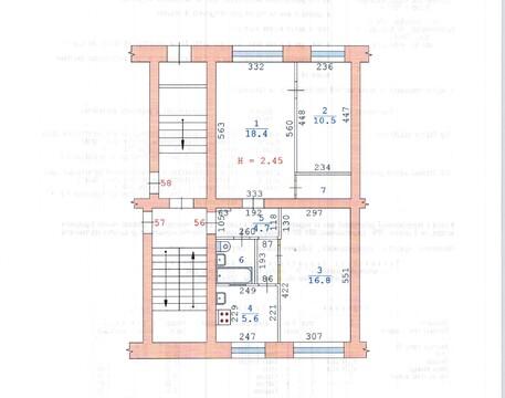 Продам универсальное помещение 57 кв.м. с отд .входом - Фото 3