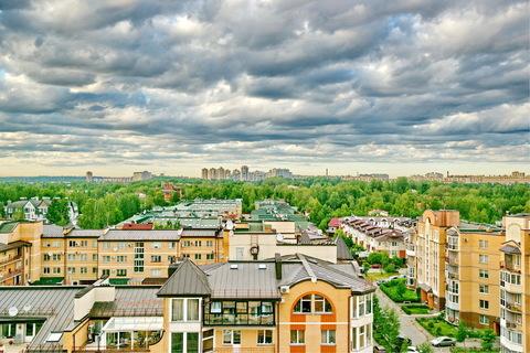 Продажа 256 кв.м 4 комн квартиры с башней террасой высокими потолками - Фото 4
