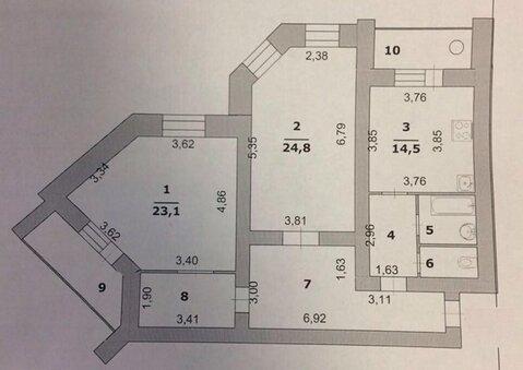 2-к квартира в новом кирпичном доме - Фото 5