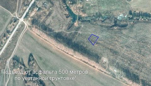 20 соток на окраине д.Ждамирово, недорого, Симферополька 115км от МКАД - Фото 3