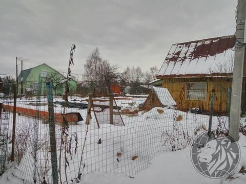Участок с добротный фундаментом СНТ №7, Климовск, Подольск - Фото 3