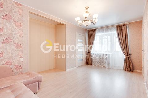 Двухкомнатная квартира, г.Голицыно, Дрсу-4, д.10 - Фото 1