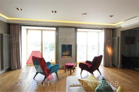 Квартира с авторским дизайном, террасой и панорамными видами на город - Фото 5