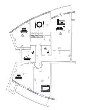 Квартира, ул. Чуйкова, д.51 к.А - Фото 3