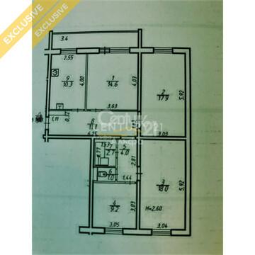 Продажа 4-х комн. квартиры на 4/9 этаже на ул. Черняховского д. 29 - Фото 3