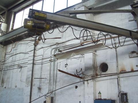 Тёплый цех с кран-балкой 1200 м2 - Фото 4