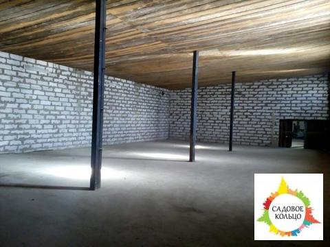 Под склад, неотапливаемый, выс.:5,5 м, пол бетон, ворота, терр. огорож - Фото 4
