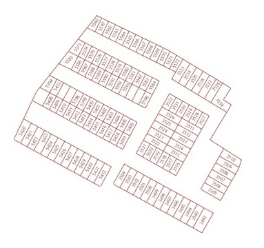 Продам земельный участок под строительство гаража 6х18м г.Сосновоборск