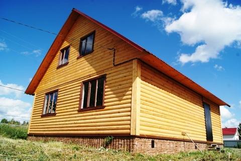 Дом в газифицированной деревне, Продажа домов и коттеджей Корытово, Киржачский район, ID объекта - 502929788 - Фото 1