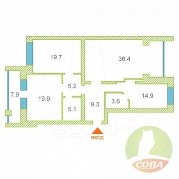 Продажа квартиры, Тюмень, Ул. Малыгина - Фото 1