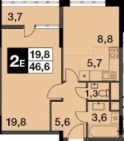 Продам 2-к квартиру, Балашиха город, улица Строителей - Фото 1