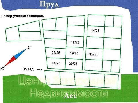 Участок, Симферопольское ш, 60 км от МКАД, Каргашиново, Коттеджный . - Фото 1