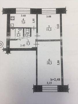 Продам 2-х комнатную квартиру в поселке Беломорье - Фото 1