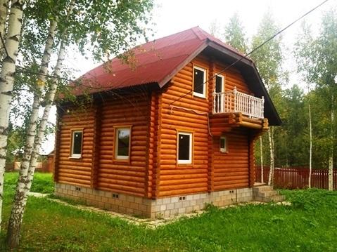 Бревенчатый дом в СНТ вбл. п. Беляная Гора, Рузский городской округ - Фото 1