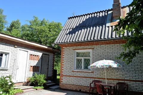 Кирпичный дом, на участке 12 сот. в черте города Электросталь - Фото 1