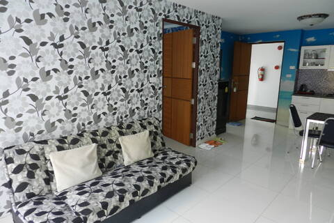 Апартаменты 2 комнаты для 3 человек. Пляж Джомтьен - Фото 3
