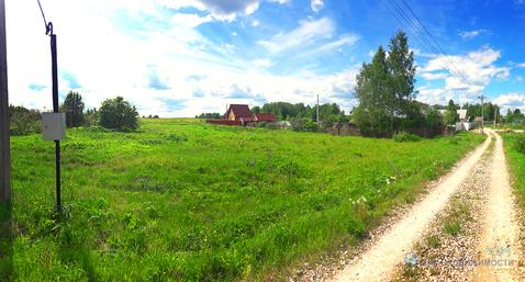 Земельный участок в деревне Бухолово Шаховского района. Лес. Водоем. - Фото 1