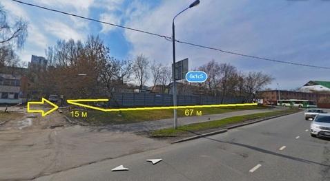 Земельный участок 10 соток с нежилым зданием 331 м2 набережная Москвы - Фото 1