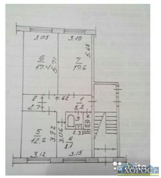 Продажа квартиры, Благовещенск, 2-й микрорайон - Фото 1