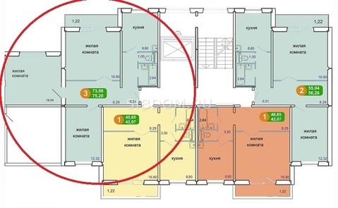 3х комнатная 73 м. в новом 2016 г. доме