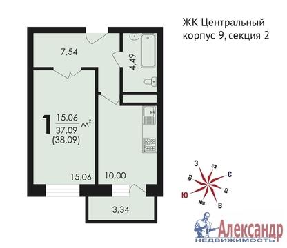 Продам 1к. квартиру. Звенигород г, Почтовая ул, д.36 к.9 - Фото 2