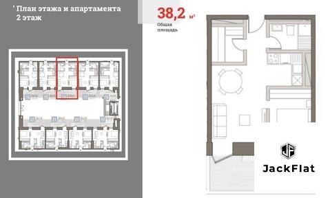 ЖК Современник - роскошная однушка (39 кв.м.) с своим патио - Фото 4
