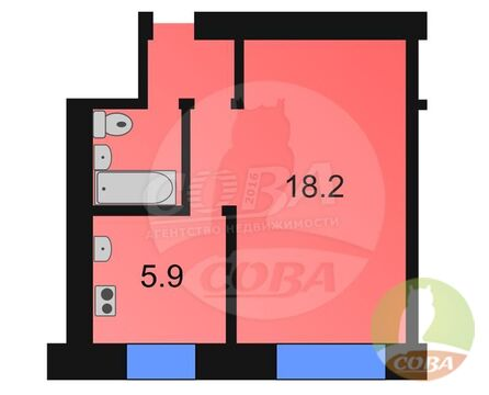 Продажа квартиры, Каскара, Тюменский район, Ул. 9 Мая - Фото 1